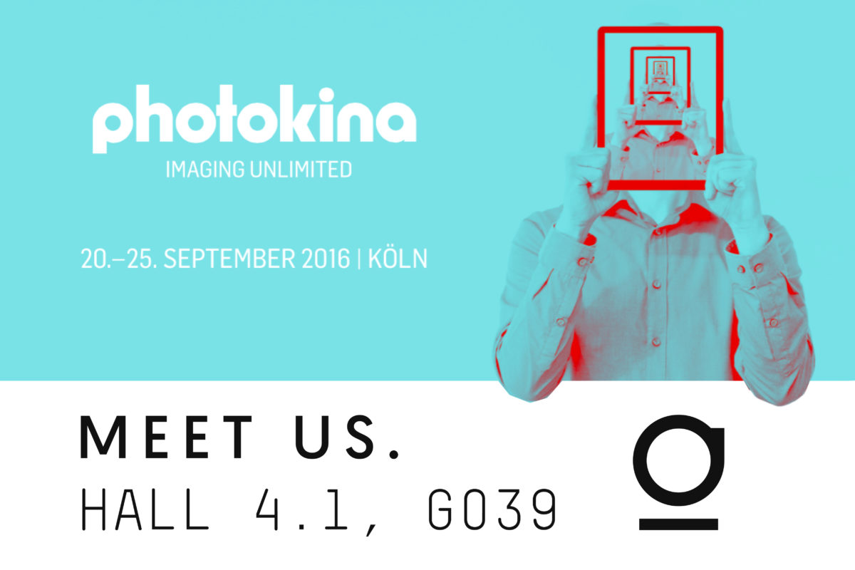 foolography booth at Photokina 2016, Hall 4.1, Booth G39