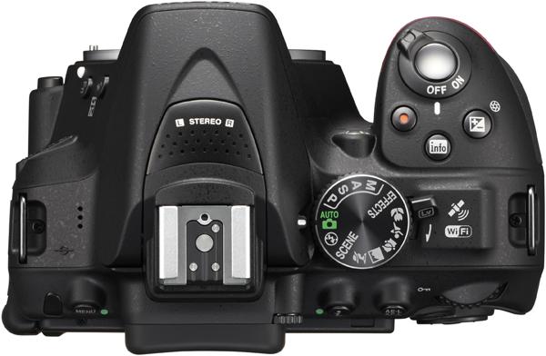 D5300 Top - GPS