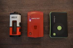 GPS receivers: Holux, QStarz, Transystem