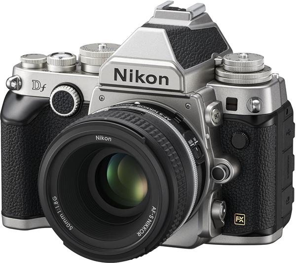 Nikon Df in Silver