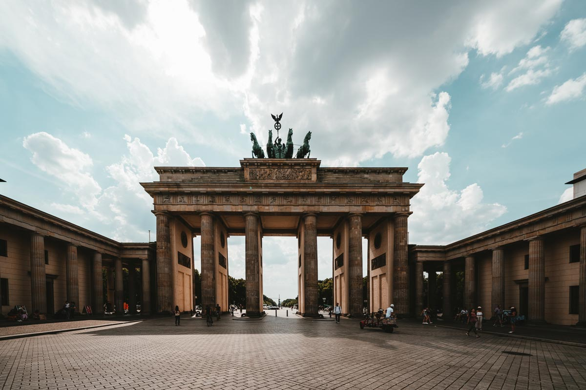 Brandenburger Gate Berlin Germany