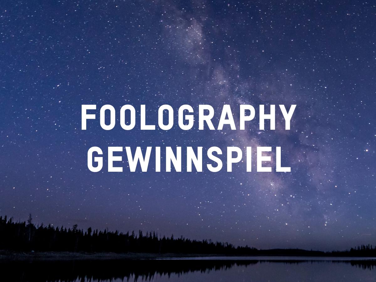 Foolography Gewinnspiel