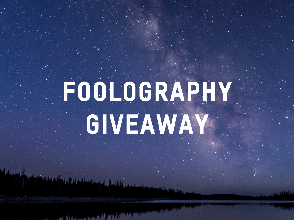 Foolography Giveaway