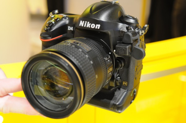 Nikon D4 with Unleashed (front view)