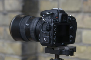 Unleashed Model N3 with optional cable on Nikon D7100