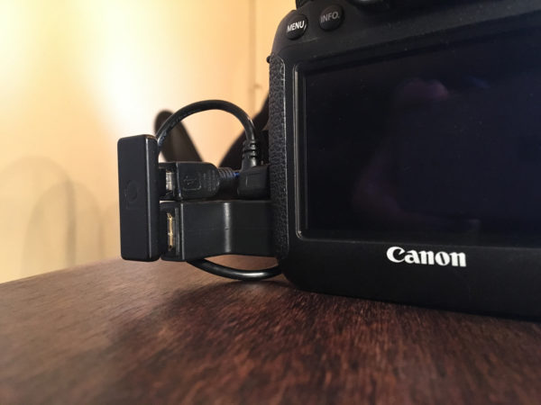 Manhattan Adapter on Canon