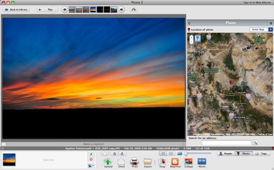 Picasa 3.5 screenshot